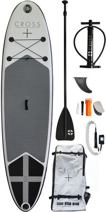 2021 Gul Cross 10'7 Inflatable SUP Board Package CB0029-B7