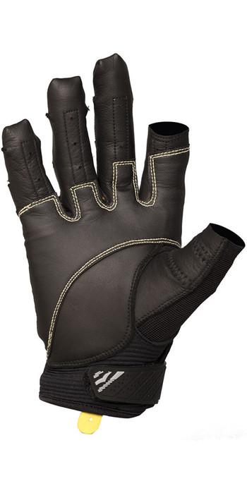 2020 Gul EVO Pro Three Finger Sailing Glove Black GL1300-B4