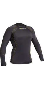 2020 Gul Evolite Flatlock Thermal Long Sleeve Top Black EV0119-B2