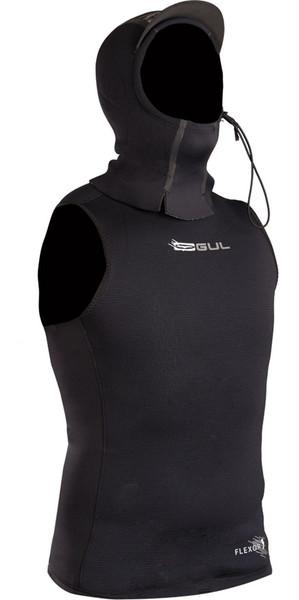 2018 Gul Flexor 0.5mm Hooded Neoprene Vest Black FX7301-A9