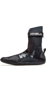2020 Gul Flexor 3mm Split Toe Wetsuit Boot BO1299-B7 - Black