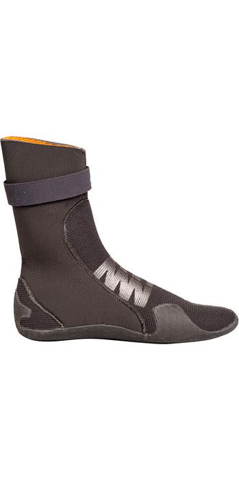 2019 Gul Flexor 5mm Split Toe Wetsuit Boot Black BO1300-B4