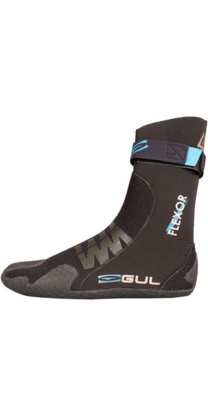 2018 Gul Flexor 5mm Split Toe Wetsuit Boot Black BO1300-B4