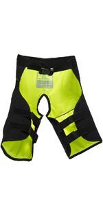 2019 Gul Junior Code Zero Kenetic Hike Pants BLACK / YELLOW GM0060-B2
