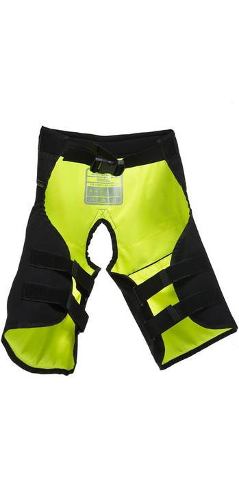 2020 Gul Junior Code Zero Kenetic Hike Pants BLACK / YELLOW GM0060-B2