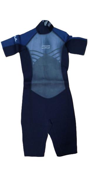 Gul Junior Profile Shorty Wetsuit in Black / Slate Blue PR3301