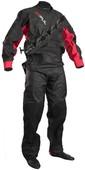 2020 GUL Junior Dartmouth Eclip Zip Drysuit GM0378-B5 - Black / Red