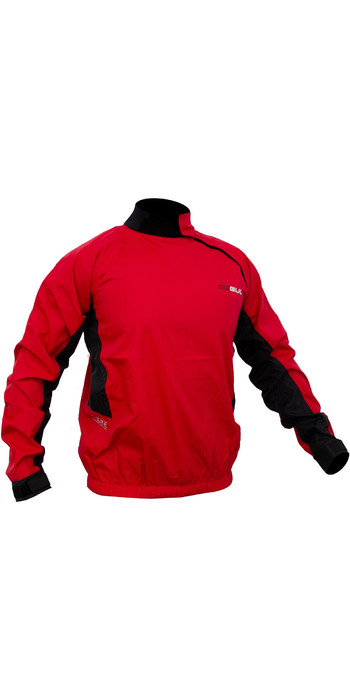 2020 Gul Mens Shore Taped Spray Top Red / Black ST0030-B5