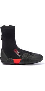 2019 Gul Power 5mm Round Toe Zipped Boots BO1306-B2 - Black