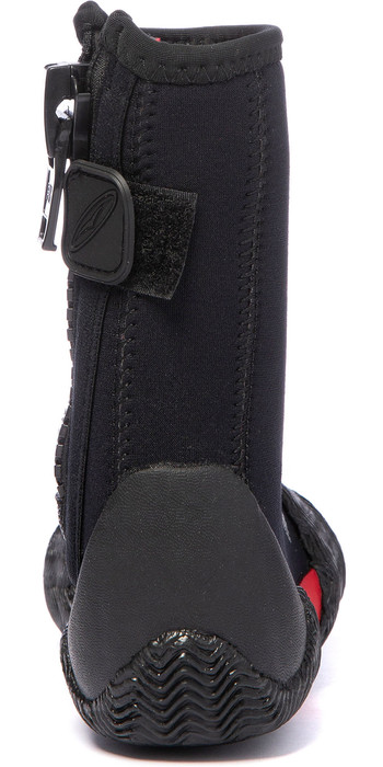 2020 Gul Power 5mm Round Toe Zipped Boots BO1306-B2 - Black