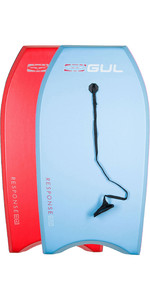 Gul Response Junior Bodyboard Twin Pack - 2 Junior - Light Blue & Red