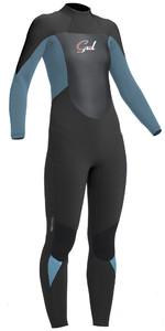 2019 Gul Response Womens 5/3mm GBS Back Zip Wetsuit Jet / Pewter RE1229-B1