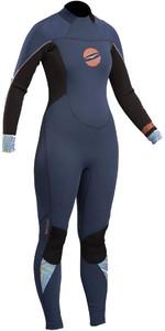 2020 Gul Response Womens 3/2mm GBS Back Zip Wetsuit Navy / Black RE1232-B4