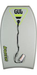 2020 Gul Seaspray Kids 33 Bodyboard - Grey GB0024-A9