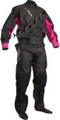 2020 GUL Womens Dartmouth Drysuit Black / Pink GM0383-B5