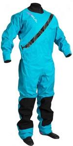 2021 Gul Womens Dartmouth Eclip Zip Drysuit GM0383-B5 - Blue