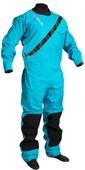 2020 Gul Womens Dartmouth Eclip Zip Drysuit Inc Fleece GM0383-B5 - Blue
