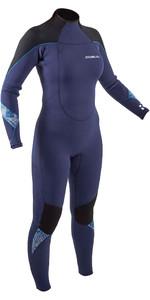 2021 Gul Womens Response 5/3mm Back Zip GBS Wetsuit RE1229-B9 - Blue / Black