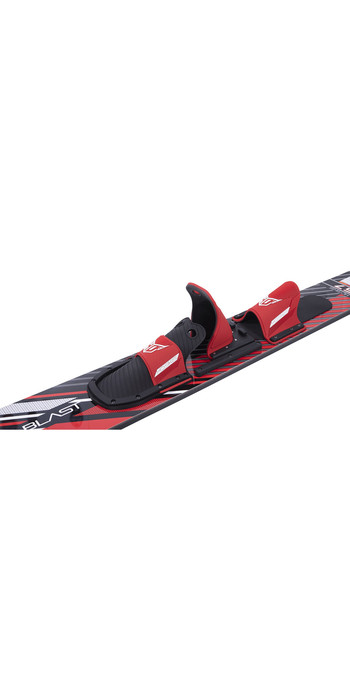2021 HO Blast Combo Skis W / Blaze / RTS-BAR - Red