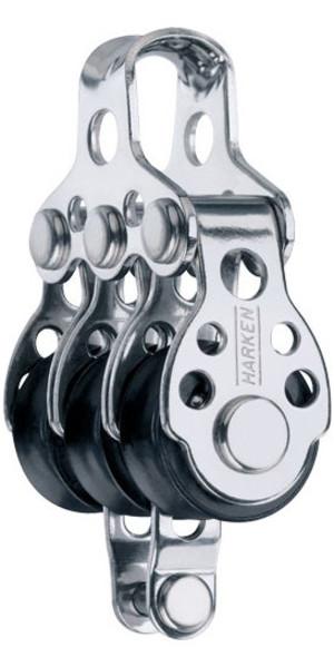 Harken 16mm Triple Air Block With Becket 409