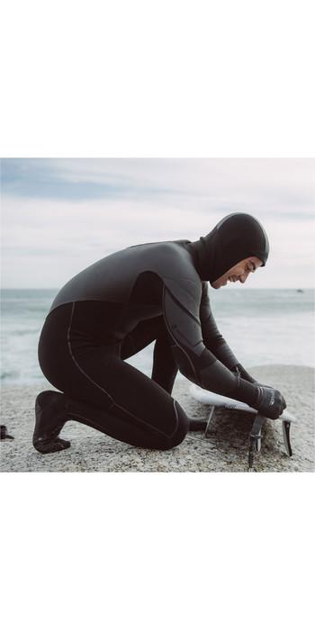 2019 Rip Curl Flashbomb Heatseeker 6/4mm Zip Free Hooded Wetsuit BLACK WST8WF