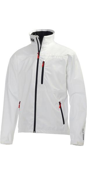 2018 Helly Hansen Crew Jacket WHITE 30263