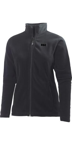 2019 Helly Hansen Womens Daybreaker Fleece Jacket Black / Black 51599