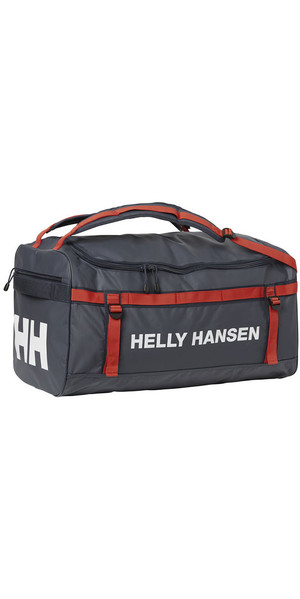 2018 Helly Hansen 50L Classic Duffel Bag 2.0 S Graphite Blue 67167