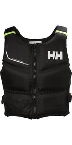 2018 Helly Hansen 50N Rider Stealth Zip Buoyancy Aid Ebony 33841