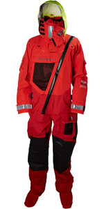 2019 Helly Hansen Aegir Ocean Survival Drysuit Alert Red 31706
