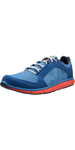 2018 Helly Hansen Ahiga V3 Hydropower Sailing Shoes Blue Water 11215