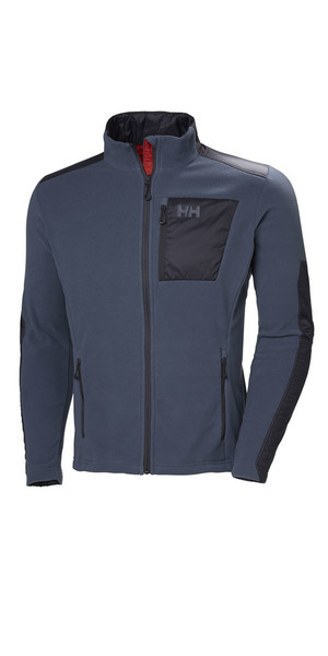 2019 Helly Hansen Breeze Fleece Jacket Vintage Indigo 51776