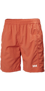 2018 Helly Hansen Carlshot Swim Shorts Paprika 55693