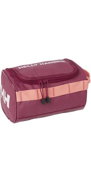 2018 Helly Hansen Classic Wash Bag Plum 67170