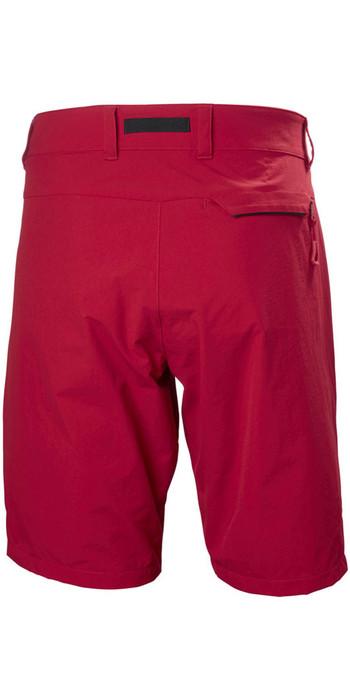 2019 Helly Hansen Crewline QD Shorts Red 53018