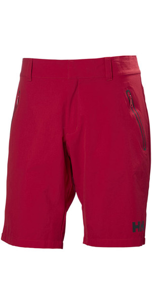 2018 Helly Hansen Crewline QD Shorts Red 53018