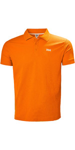 2019 Helly Hansen Driftline Polo Shirt Blaze Orange 50584