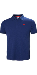 2019 Helly Hansen Driftline Polo Shirt Catalina Blue 50584