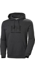 2020 Helly Hansen HH Logo Hoodie 33977 - Ebony Melange