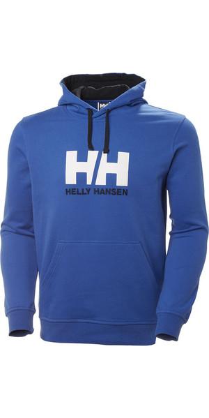 2018 Helly Hansen HH Logo Hoody Olympian Blue 33977