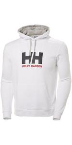 2019 Helly Hansen HH Logo Hoodie White 33977