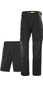 Helly Hansen Mens HP Dynamic Trousers & Shorts Package - Ebony