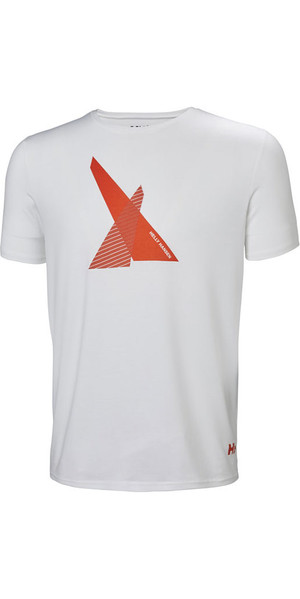 2019 Helly Hansen HP Shore T-Shirt White 53029