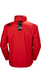 2020 Helly Hansen Hooded Crew Mid Layer Jacket Alert Red 33874