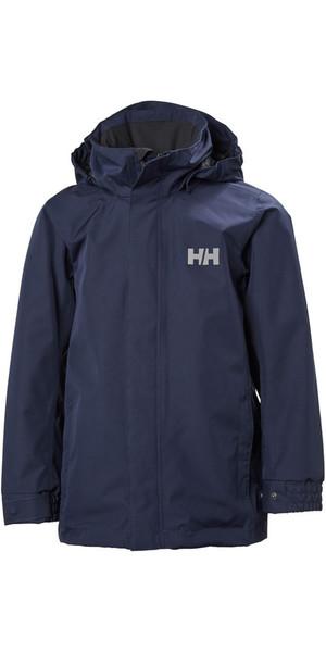 2018 Helly Hansen Junior Dubliner Jacket Evening Blue 40317