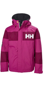Helly Hansen Junior Salt Port Jacket Very Berry 41634