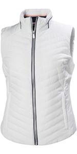 2019 Helly Hansen Womens Crew Insulator Vest White 53031