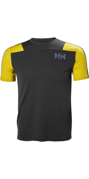 2018 Helly Hansen Lifa Active Light T Shirt Ebony 48361