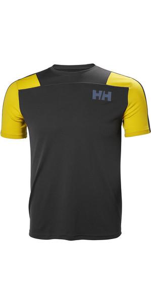 2018 Helly Hansen Lifa Active Light T Shirt Ebony 48361