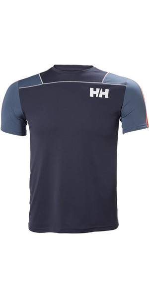 2018 Helly Hansen Lifa Active Light T Shirt Graphite 48361